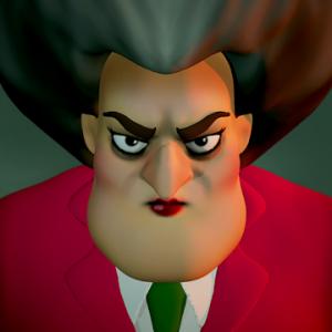 Scary Teacher 3D logo
